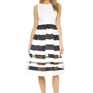 Alice & Olivia Fit and Flare Dress